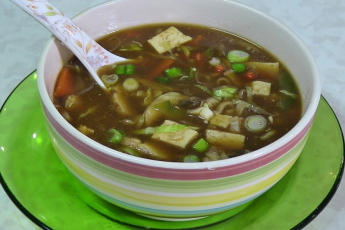 MANCHOW SOUP CHOICE OF VEG.