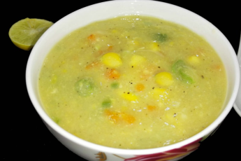 SWEET CORN SOUP VEG