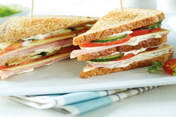CLUB SANDWICH VEG